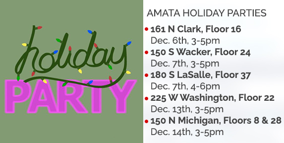 Amata Holiday Parties