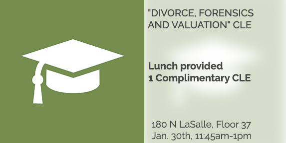 Divorce, Forensics and Valuation CLE