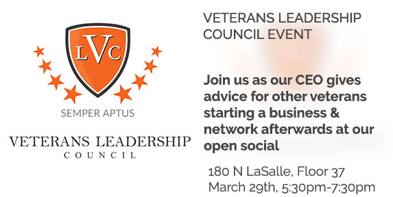 Veterans Leadership Council Event